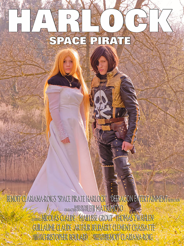Poster Space Pirate Harlock
